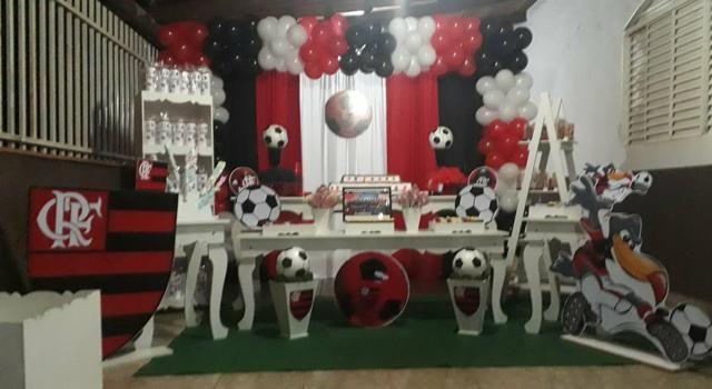 Mesa tema Flamengo