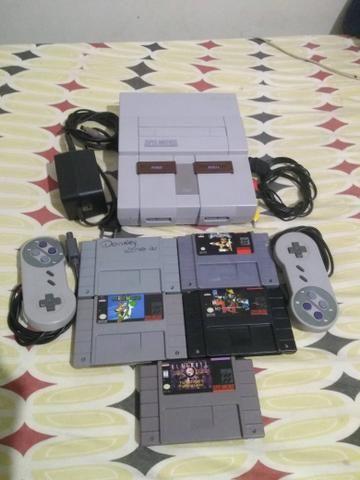 Super Nintendo - Negociável