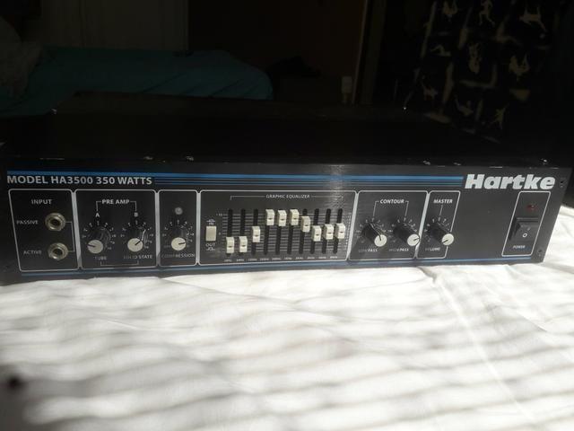 Cabeçote Hartke HA3500 para Baixo