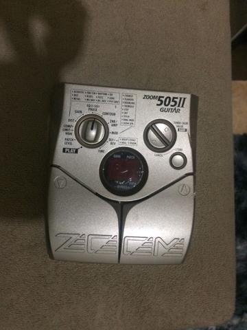 Pedaleira ZOOM 505 II