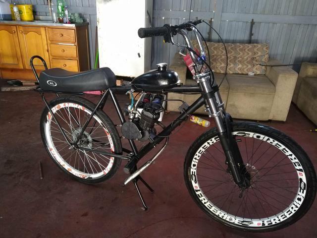 Bike a motor 80 cc
