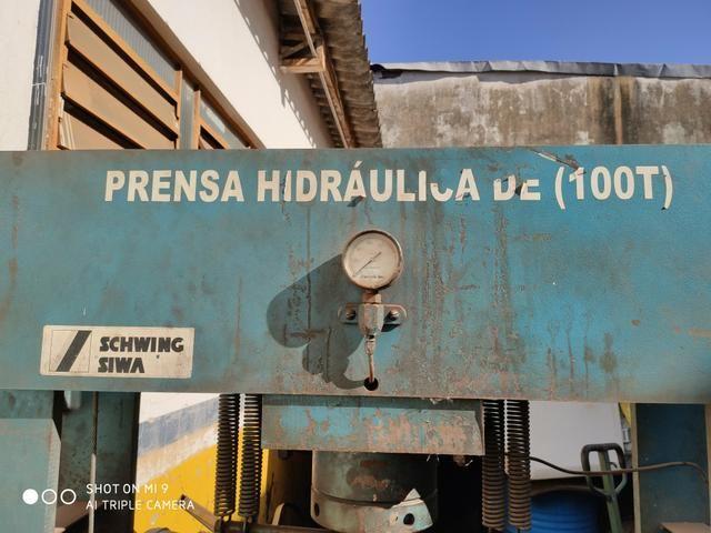 Prensa hidráulica 100 toneladas