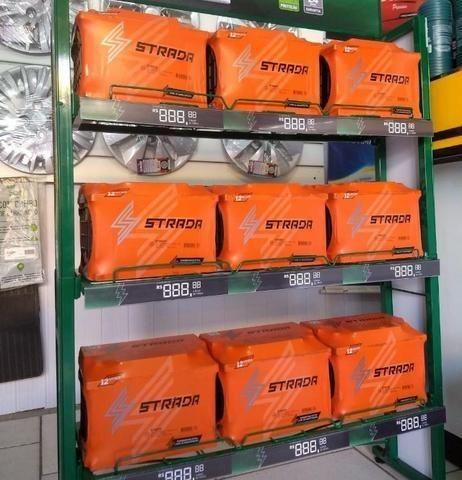 Baterias strada 70 Ah (fabricada pela heliar)