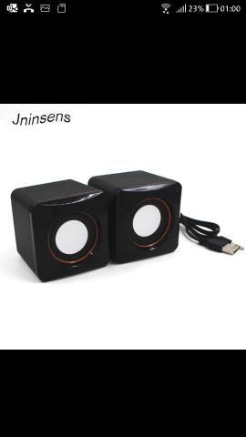 Mini caixa som Speaker para notebool e pc
