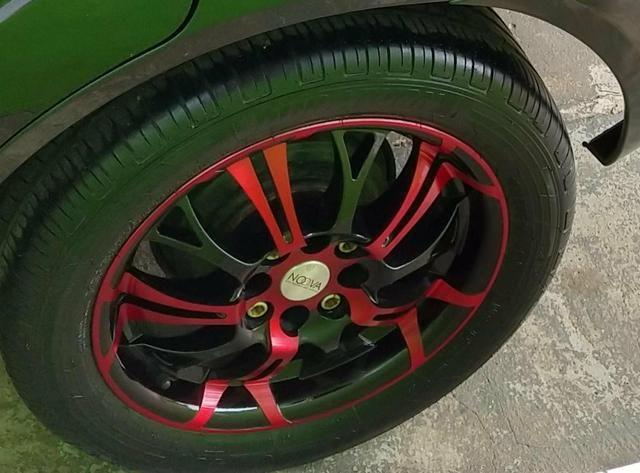 Vendo ou troco jogo de rodas novas aro 15 multifuros por outro jogo de rodas aro 15