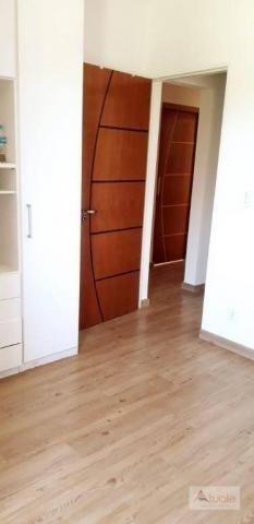 Apartamento com 3 dormitórios para alugar, 65 m² - parque euclides miranda - sumaré/sp - Foto 11
