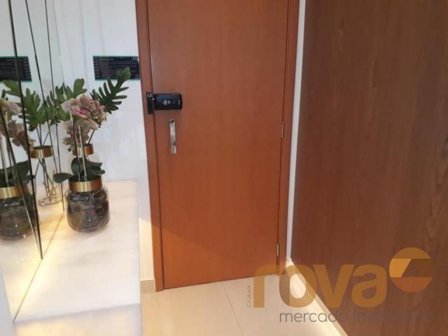 Apartamento à venda com 3 dormitórios em Setor marista, Goiânia cod:NOV89112 - Foto 19