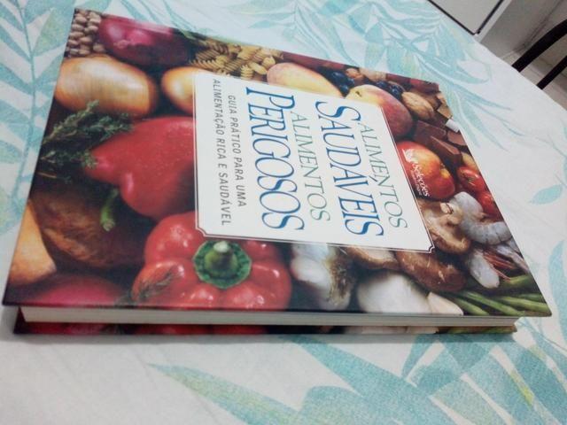 Livro Alimentos Saudáveis e Perigosos Guia Prático para Uma alimentação Rica. saudável. - Foto 2
