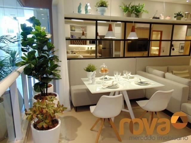 Apartamento à venda com 3 dormitórios em Setor bueno, Goiânia cod:NOV235464 - Foto 6