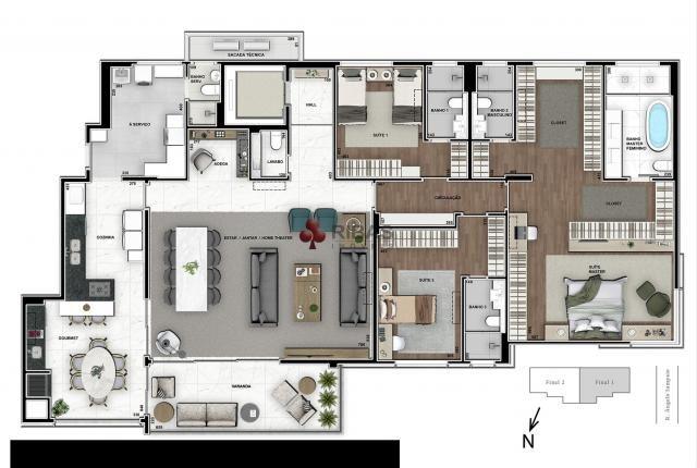 Apartamento à venda com 5 dormitórios em Batel, Curitiba cod:15373 - Foto 16