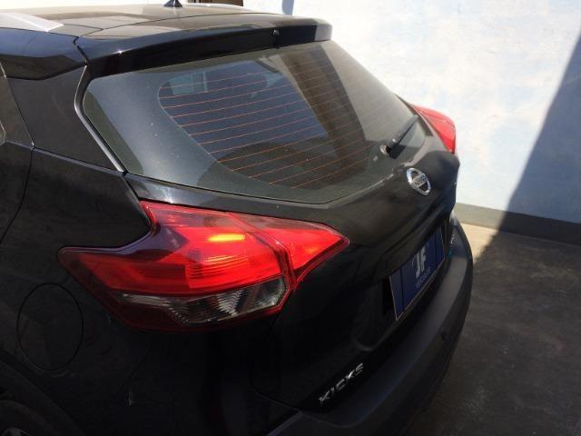 Nissan Kicks Sv 1.6 16v FlexStar 5portas Aut Preto Banco de Couro - Foto 2