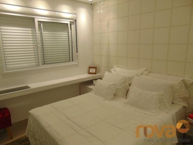 Apartamento à venda com 3 dormitórios em Setor pedro ludovico, Goiânia cod:NOV91510 - Foto 13