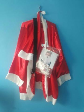 Roupa de papai Noel adulto - Foto 2