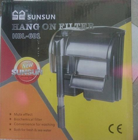 Filtro externo Hang On Sunsun Hbl-601