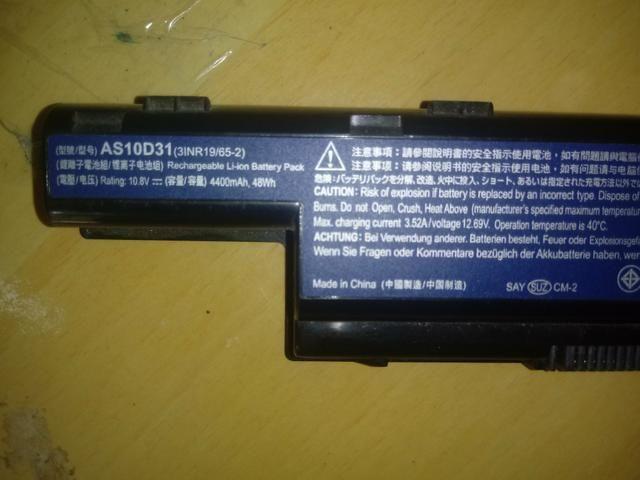 Bateria notebook acer 5733, 5750 - Foto 3