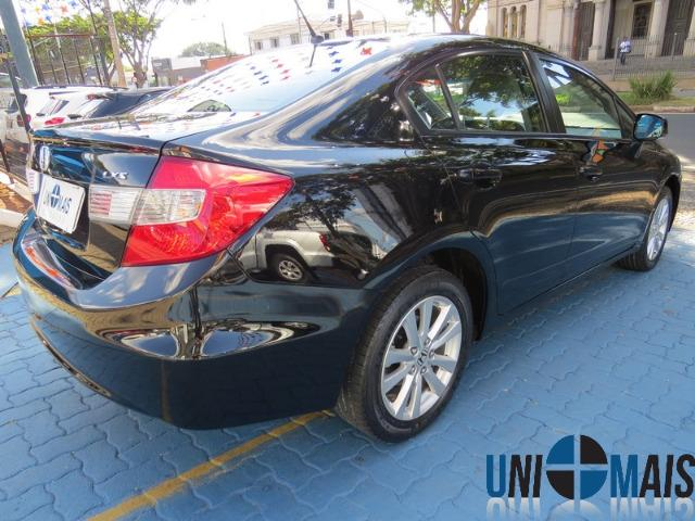 Honda Civic Automatico 2014 1.8 Lxs Completo Perfeito Estado Apenas 48.900 Lja - Foto 12
