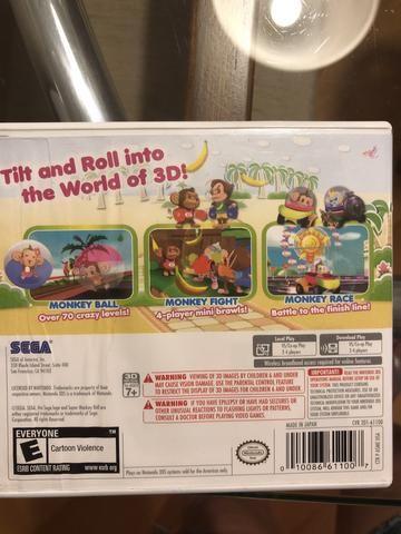 Jogo Nintendo 3DS - super monkey Ball - Foto 2