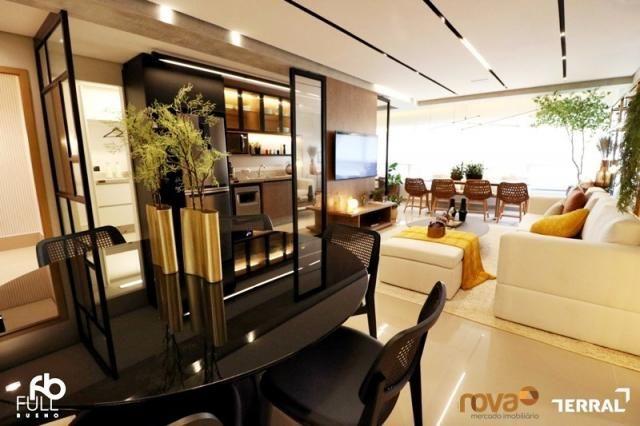 Apartamento à venda com 3 dormitórios em Setor bueno, Goiânia cod:NOV235717 - Foto 13