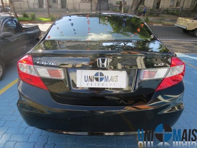Honda Civic Automatico 2014 1.8 Lxs Completo Perfeito Estado Apenas 48.900 Lja - Foto 8