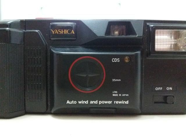 Câmera antiga Yashica - Foto 3