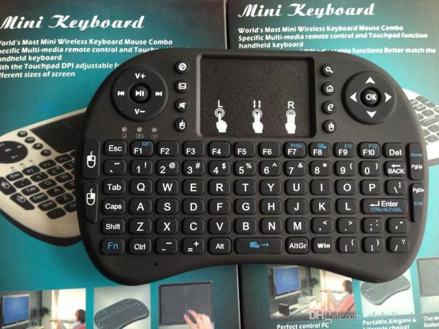 Mini controle sem fio para tv smart tablet outros - Foto 2