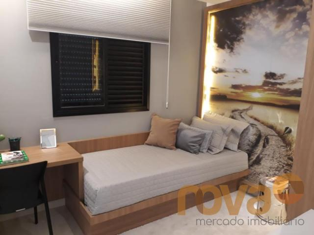 Apartamento à venda com 3 dormitórios em Setor marista, Goiânia cod:NOV89112 - Foto 20