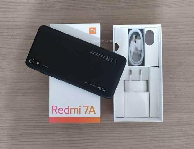 Promoção Xiaomi Redmi 7A + Película Grátis + Frete Grátis! Original, Novo e c/ Garantia - Foto 3