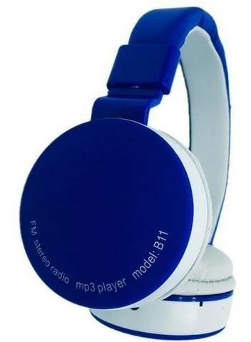 Fone De Ouvido Wireless Bluetooth Micro Sd Fm B11 - Foto 2