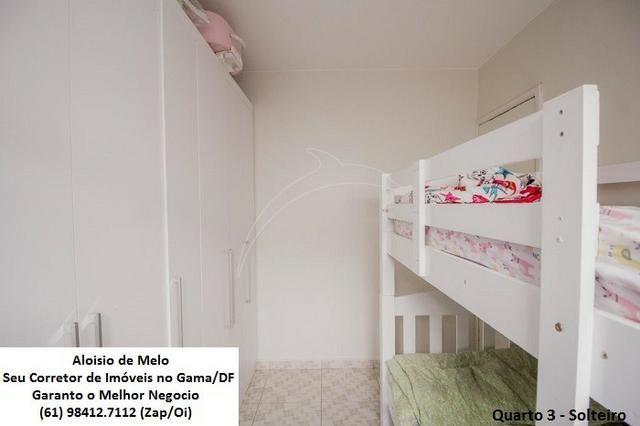 Aloisio Melo Vde: Q. 33 S/Leste, 2 Casas; Sala, Cozinha, 3 Qtos, Ac. Financiamento/FGTS - Foto 14