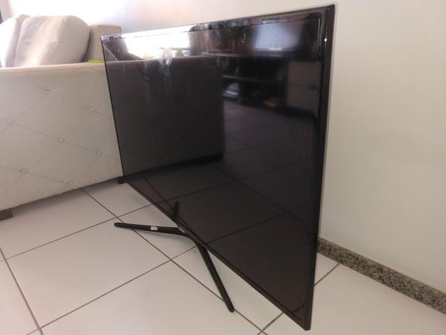 TV 55,POL,R$,350 led ultra fina - Foto 4