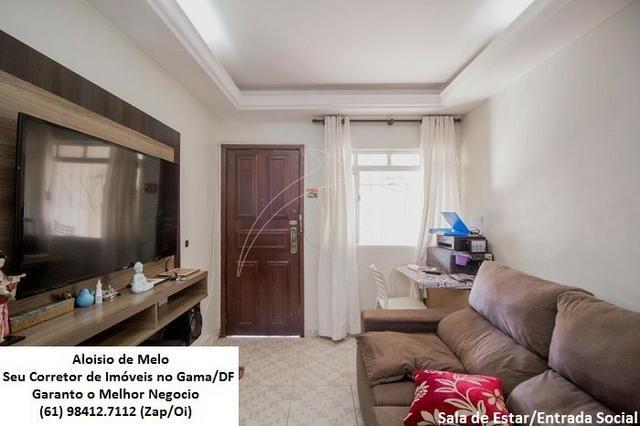 Aloisio Melo Vde: Q. 33 S/Leste, 2 Casas; Sala, Cozinha, 3 Qtos, Ac. Financiamento/FGTS - Foto 4