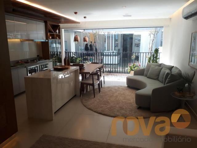 Apartamento à venda com 3 dormitórios em Setor marista, Goiânia cod:NOV89112 - Foto 5