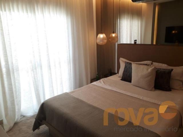 Apartamento à venda com 3 dormitórios em Setor marista, Goiânia cod:NOV89112 - Foto 17
