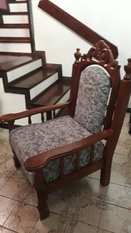 Sofá rústico em madeira - Móveis - Portuguesa, Rio de ...