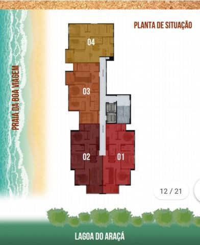 NV - Unique Hall Lagoa do Araçá 3 qts, 71m²- 81. * Whatsapp - Foto 17