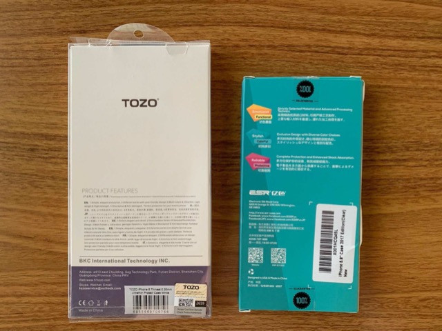 Capas Esr Tozo Slim Clear Solid Soft Tpu Cover iPhone X/xs - Foto 2