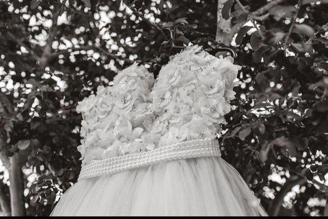 Vestido de noiva usado apenas 1x