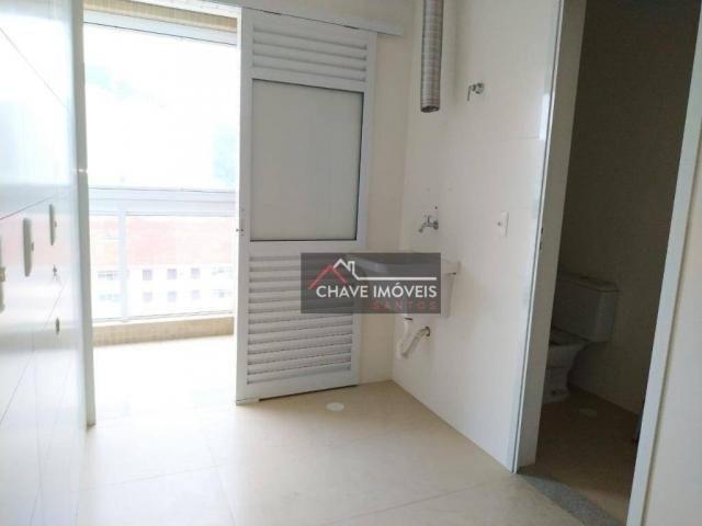 Apartamento com 3 dormitórios à venda, 111 m² por R$ 740.000,00 - Marapé - Santos/SP - Foto 5