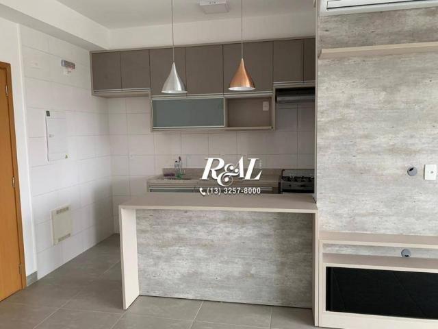 Apartamento com 2 dormitórios (1 suíte) à venda e locação, 72 m² - Gonzaga - Santos/SP - Foto 5