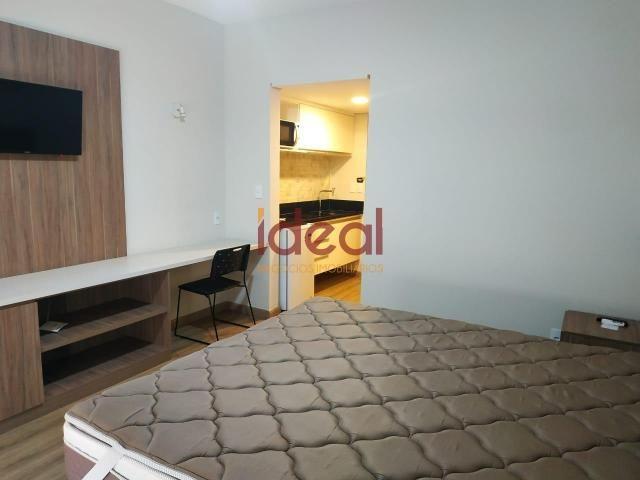 Flat para aluguel, 1 quarto, 1 suíte, Centro - Viçosa/MG - Foto 11