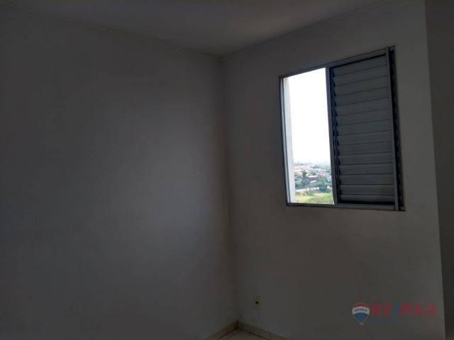 Apartamento com 2 dormitórios para alugar, 45 m² por R$ 650,00/mês - Residencial Ana Célia - Foto 14