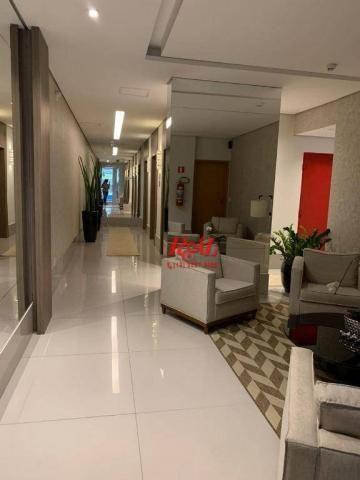 Apartamento com 2 dormitórios (1 suíte) à venda e locação, 72 m² - Gonzaga - Santos/SP - Foto 19