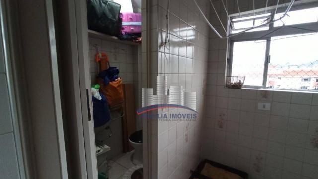 Apartamento com 2 dormitórios à venda, 74 m² por R$ 350.000,00 - Campo Grande - Santos/SP - Foto 18
