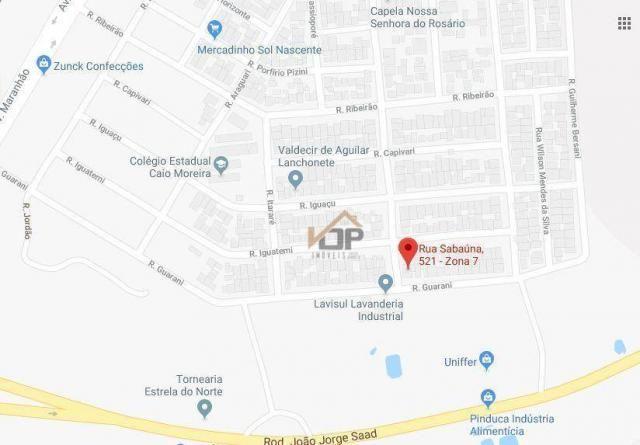 Casa com 2 dormitórios à venda, 91 m² por R$ 128.448,91 - Conjunto Ovidio Franzoni - Ciano - Foto 7