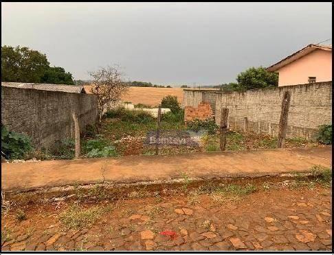 Terreno à venda, 360 m² por R$ 54.427,50 - Jd Floresta - Quedas do Iguaçu/PR