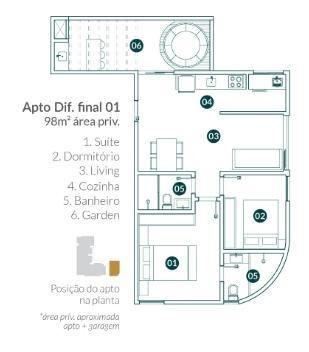 Apartamento para Venda em Balneário Camboriú, vila real, 2 dormitórios, 1 suíte, 2 banheir - Foto 11
