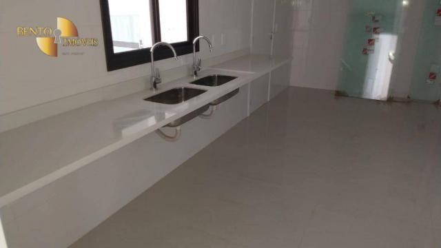 ED ROYAL PRESIDENT - Apartamento com 4 dormitórios à venda, 237 m² por R$ - Bosque - Cuiab - Foto 20