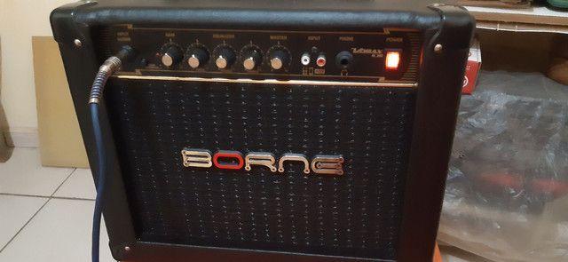 Amplificador Borne Vorax 630 25W