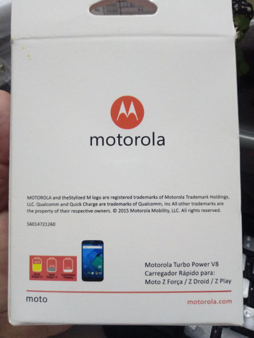 Turbo carregador Motorola - Foto 2
