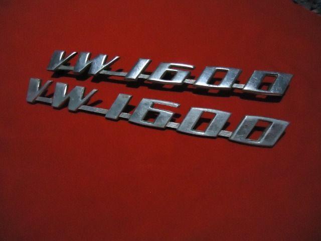 Emblema original vw 1600